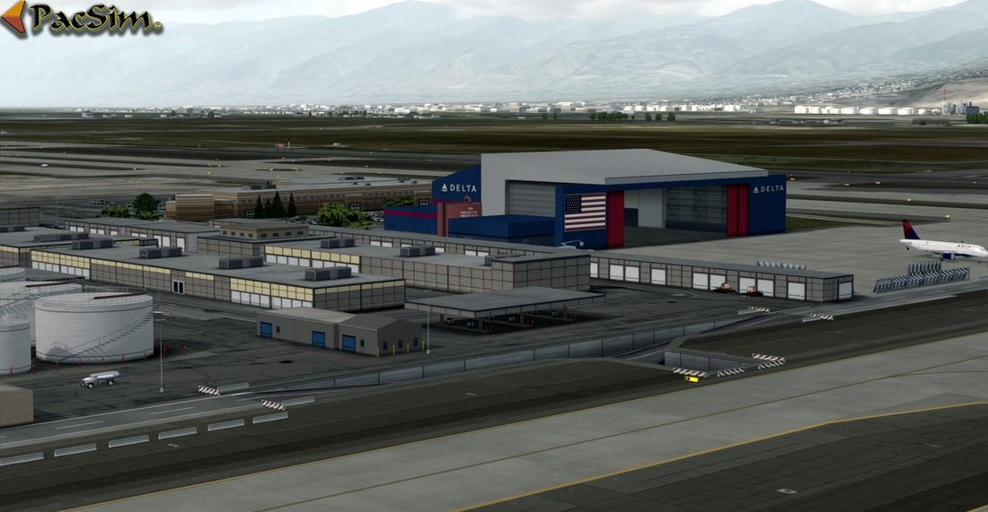 Salt Lake City Int - P3Dv4 - Scenes for pilots who deviate